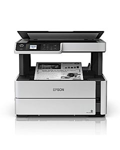 Multifunctional inkjet mono CISS Epson M2140, A4 (Printare, Copiere, Scanare), 39ppm alb-negru, USB 2.0