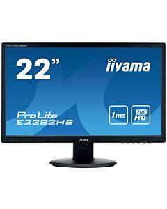 Monitor Iiyama E2282HS-B1 21.5'', TN, Full HD, VGA/DVI/HDMI