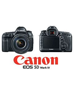 Camera foto DSLR Canon EOS-5D IV, 30Mpx + obiectiv 24-105mm 1:4L IS II USM, kit