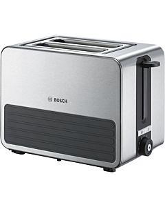 Toaster Bosch TAT7S25, Negru-Metal