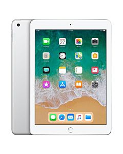 "Apple iPad 9.7"" (2018), 32GB, Cellular, Silver"