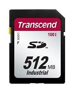 Card de memorie Transcend Industrial, SD, 512MB, 17/13MBs