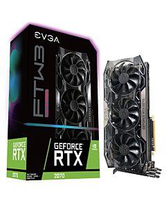 EVGA GeForce RTX 2070 FTW3 ULTRA GAMING, 8GB GDDR6, iCX2 & RGB LED