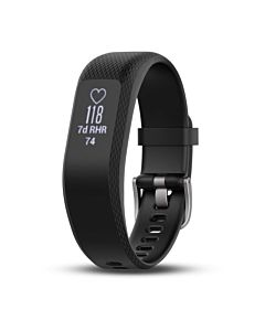 Garmin Vivosmart 3, Black - (Strap Medium)