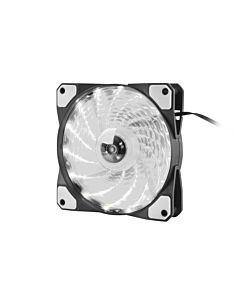Genesis Fan Case/PSU HYDRION 120 WHITE; LED; 120MM