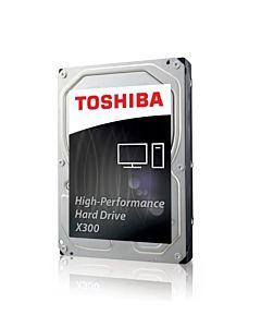Internal HDD Toshiba X300, 3.5'', 6TB, SATA/600, 7200RPM, 128MB cache, BOX