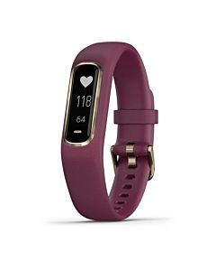 Smartwatch Garmin Vivosmart 4, Small/Medium, Rose Gold, Berry Band