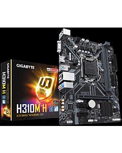 Placa de baza Gigabyte H310M H, Socket 1151, DDR4