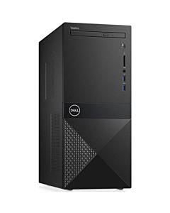 Desktop PC Dell Vostro 3670, Intel Core i5-8400, 8GB DDR4, SSD M.2 PCIe 256GB, negru, Windows 10 Pro
