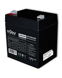 Acumulator VRLA nJoy, 12V 4.5Ah, PW4122D