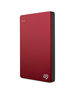 HDD Seagate Backup Plus Slim, 2.5'', 1TB, USB 3.0, red