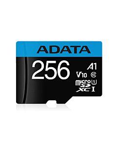 ADATA 256GB Premier MicroSDHC, R/W up to 100/25 MB/s, cu adaptor