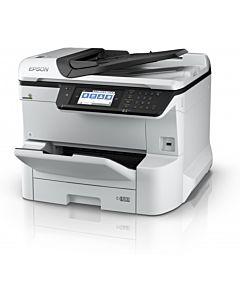 Multifunctionala Epson WorkForce Pro WF-8610DWF, Inkjet, Color, Format A3+, Fax, Retea, Wi-Fi, Duplex
