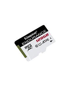 Card de memorie Micro SDXC Kingston, High Endurance, 128GB, CLASS 10 UHS-I, R/W 95/45 MBs
