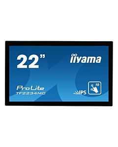 Monitor IIyama TF2234MC-B6AGB 21,5'', IPS touchscreen, Full HD, VGA, HDMI, DP