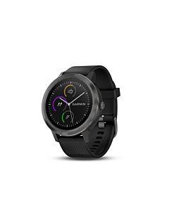 Smartwatch Garmin Vivoactive 3, GPS, Slate, Silicone Black