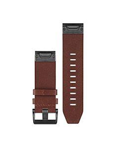 Curea ceas smartwatch Garmin Fenix 5, Piele, Brown