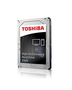 Internal HDD Toshiba X300, 3.5'', 10TB, SATA/600, 7200RPM, 128MB cache