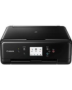 Multifunctional inkjet color Canon Pixma TS6250, A4, duplex, 15ppm mono, 10ppm color, scanner flatbed, Bluetooth, USB, Wireless, negru