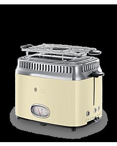 Toaster Russell Hobbs 21682-56 Retro Vintage, cream