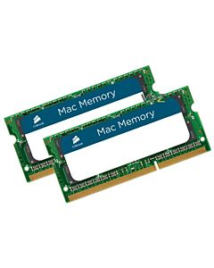 Memorie Corsair 8GB (2x4GB) SODIMM, DDR3, 1066MHz, CL7, 1.5V pentru Apple/MacBook