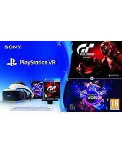 SONY PlayStation Virtual Reality, Camera, GT Sport + VR Worlds voucher
