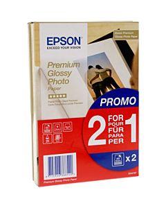 Premium Glossy Photo Paper BOGOF 10 x 15 Epson 2 x 40 Sheets