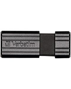 Flashdrive Verbatim PinStripe 128GB negru