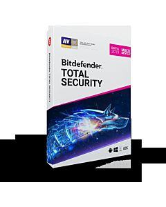 Bitdefender Total Security 2019, un an, 3 dispozitive, retail box