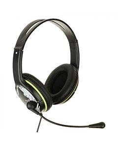Casti cu microfon Genius HS-400A, Verde