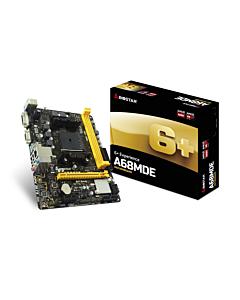 Biostar A68MDE , FM2+, AMD A68H, DDR3-2600, USB 3.1, HDVI