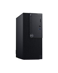 Sistem Desktop PC DELL OptiPlex 3060 MT, Procesor Intel® Core™ i5-8500 3.0GHz Coffee Lake, 8GB DDR4, 256GB SSD, GMA UHD 630, Linux