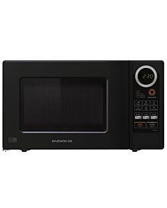 Microwave oven Daewoo KOR662BTK, 20L, 800W, Electronic, Black
