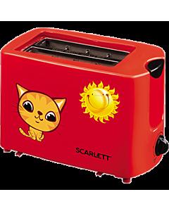 Prajitor de paine Scarlett SC-TM11010, 750W, rosu