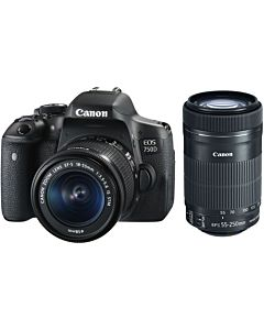 Photo Camera Canon 750d Kit 18-55-250s
