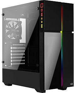 Carcasa Aerocool PLAYA RGB TEMPERED GLASS - USB3.0 fara sursa