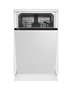Masina de spalat vase incorporabila Beko DIS26021, 10 seturi, 6 programe, Clasa A++