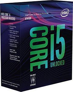 Procesor Intel® Core™ I5-9600K, 3.7 GHz, 9MB, Socket 1151- Chipset seria 300