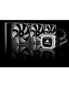 Cooler CPU Corsair H150i RGB, racire cu lichid, ventilator 3x120mm