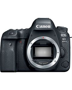Aparat foto DSLR Canon EOS 6D Mark II, 20.2 MP, Body, Negru