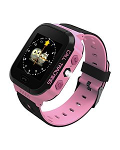 ART Watch Phone Go with locater GPS - Flashlight Pink