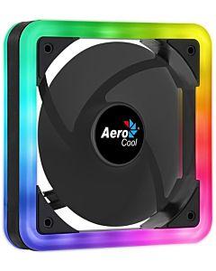AEROCOOL EDGE ARGB DUAL RING LED Ventilator 140x140x25mm + 6PIN adapter