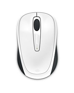 Mouse Microsoft Mobile 3500, Wireless, Alb Glossy