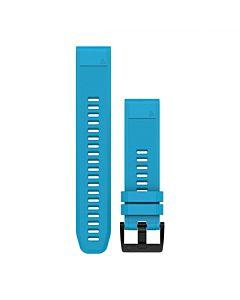Curea Ceas Smartwatch Garmin Fenix 5, 22mm, QuickFit, Silicon, Cirrus Blue