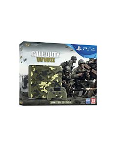 Sony Playstation 4, 1TB, Slim, Green Cammo + Call of Duty WW2 PL