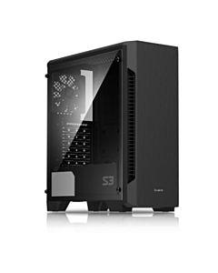 Carcasa PC Zalman S3, ATX, MID Tower, window