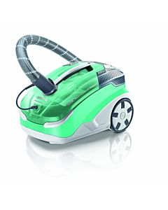 Aspirator Thomas Multi Clean X10 Parquet 788577, 1400W, filtru lavabil HEPA13, Verde