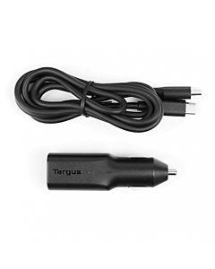 Incarcator auto Targus USB-C, 45W, Black