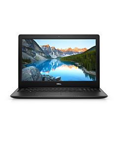 Laptop Dell Inspiron 3584 Intel Core Kaby Lake i3-7020U 1TB HDD 4GB AMD Radeon 520 2GB FullHD DVD Black
