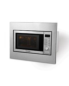 Cuptor cu microunde incorporabil HEINNER HMW-23BI, 23 l, 800 W, Digital, Grill, Inox + Kit instalare